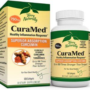 CuraMed® Superior Absorption Curcumin - 750 mg - 120 Softgels