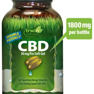 CBD Liquid Soft Gels: 30 mg - 60 count