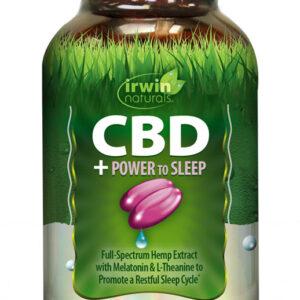 CBD +Power To Sleep 60 Softgels