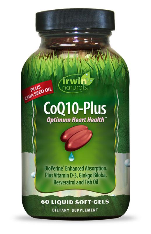 CoQ10-Plus - 60 Liquid Softgels