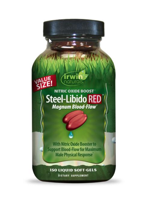 Steel-Libido Red - 150 Liquid Softgels
